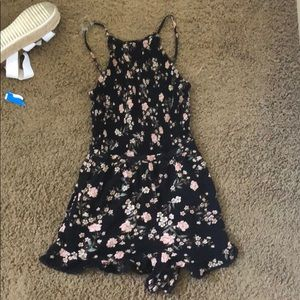 black american eagle romper